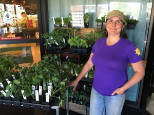 Renee from New Roots Farm in Newmarket, NH
