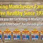 A Market Wins Best of NH 6 years straight!