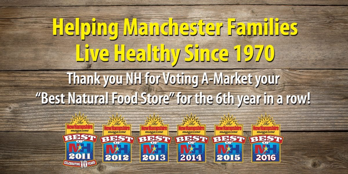A Market Wins Best of NH 2011 - 2016