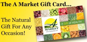 A Market Gift Card