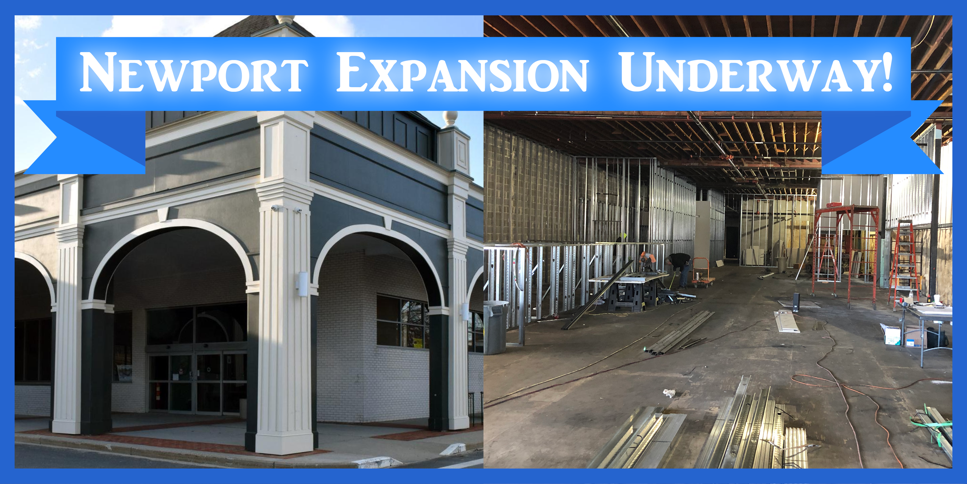 Newport Expansion Underway!