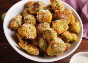 Parm Roasted Brussels